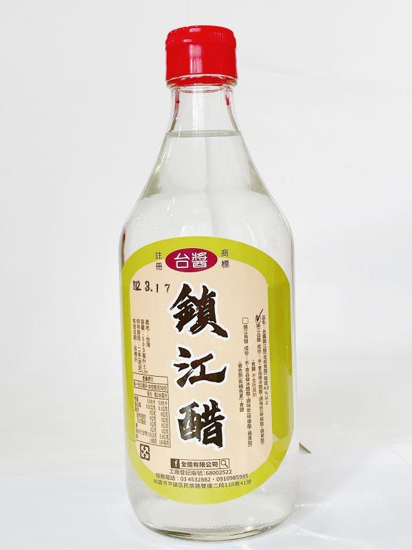 台醬鎮江白醋(500ml)