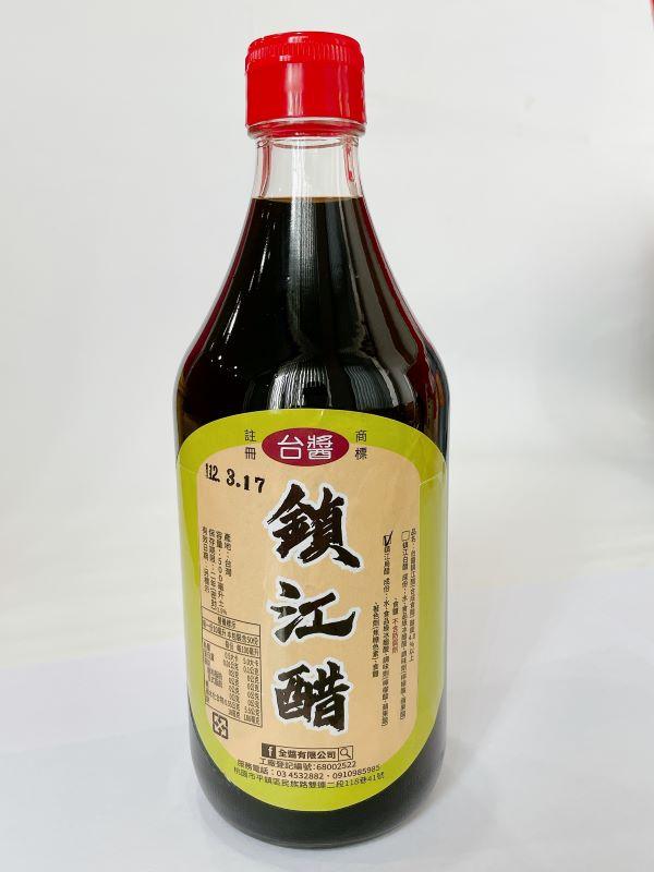 台醬鎮江烏醋(500ml)