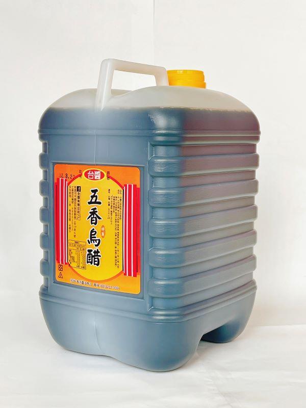 台醬五香烏醋(4.5公升)