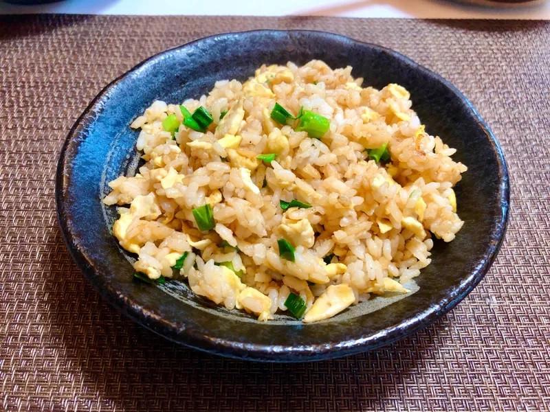 超簡易醬油蛋炒飯